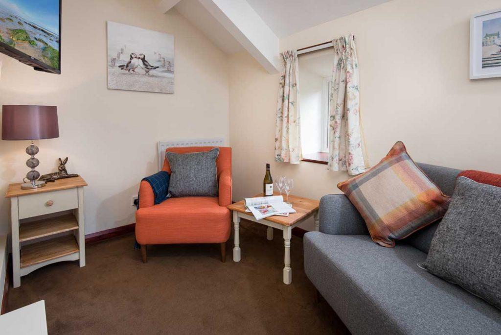 TV Room at Dunstanburgh View