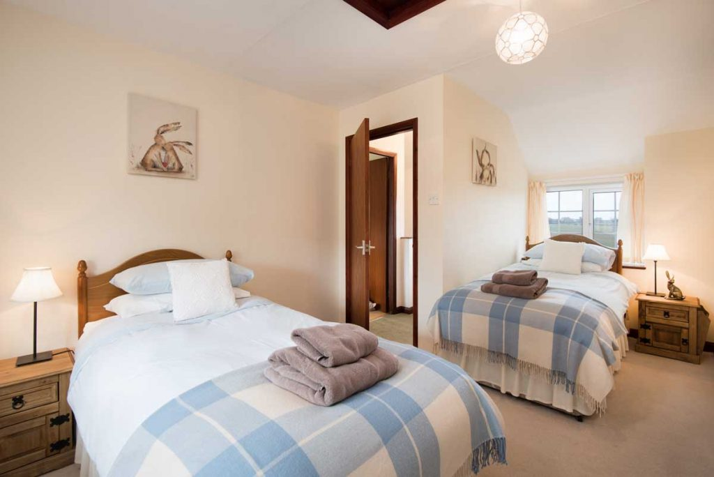 Twin Bedroom at Dunstanburgh View