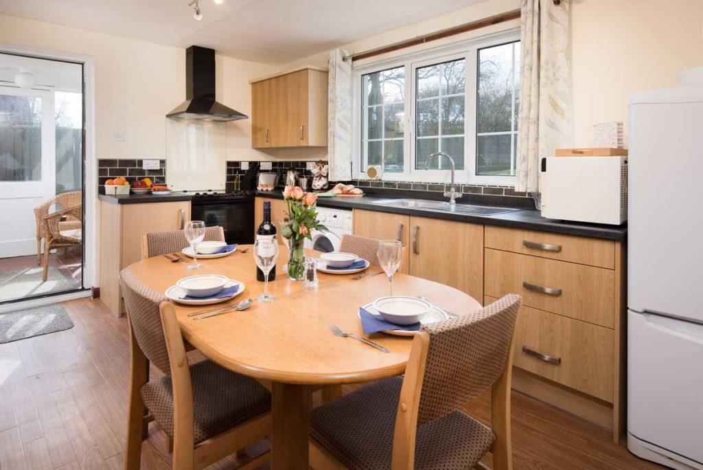 Kitchen at Dunstanburgh View