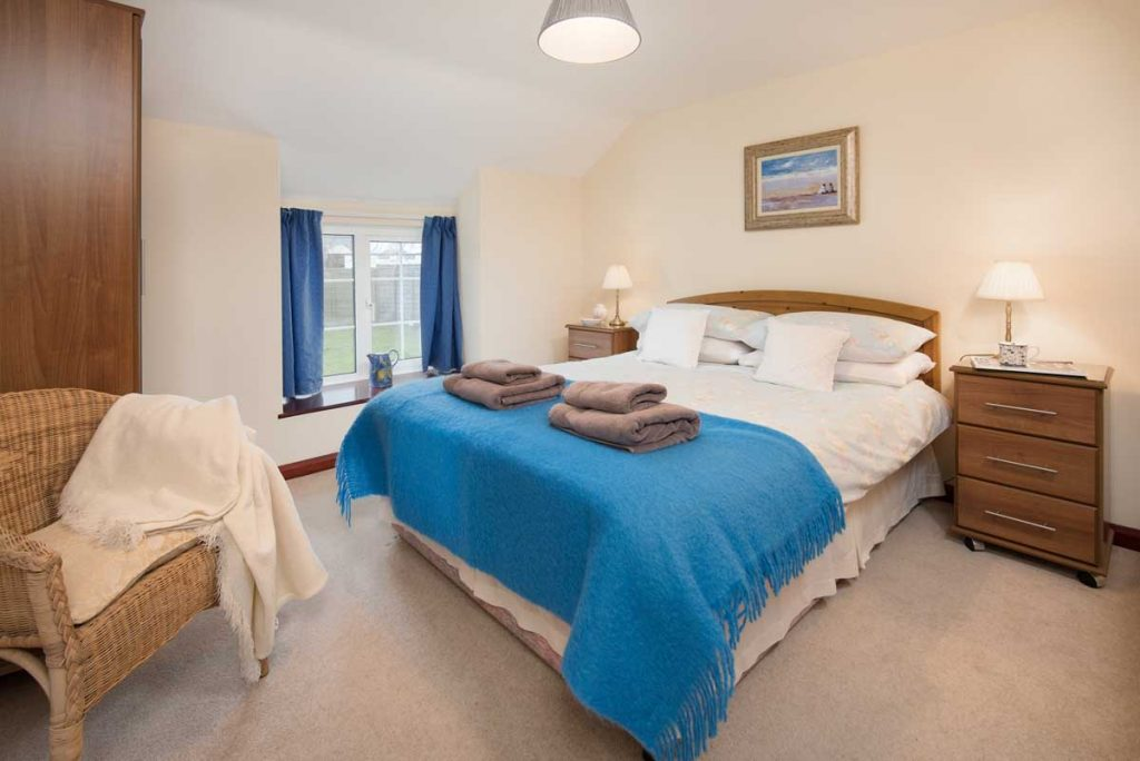 Double Bedroom at Seascape self-catering cottage